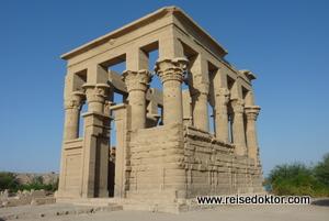 Tempel Agilkia Insel