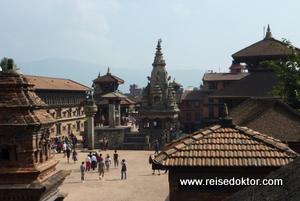 Mittelalterliches Flair in der Altstadt von Bhaktapur