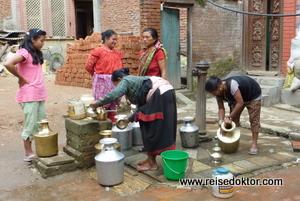 Brunnen in Bhaktapur