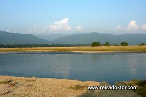 Fluss im Chitwan Nationalpark