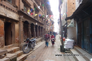 Gasse in Bhaktapur