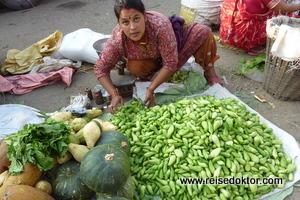 Gemüsemarkt in Patan, Nepal