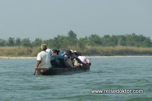 Kanufahrt Chitwan Nationalpark