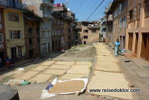 Kirtipur bei Kathmandu