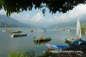 Lake Fewa in Pokhara