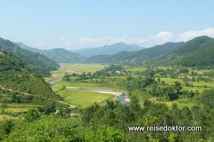 Landschaft bei Pokhara