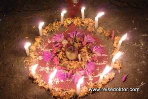 Lichterfest in Bhaktapur