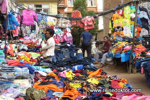 Markt in Nepal (Stadt Patan)