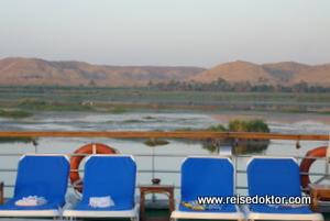 Morgenerwachen Nilkreuzfahrt