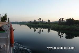 MS Grand Sun am Morgen, Nilkreuzfahrt