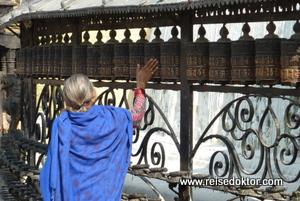 Pilger Swayambhunath