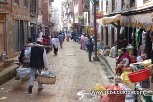Strasse in Nepal