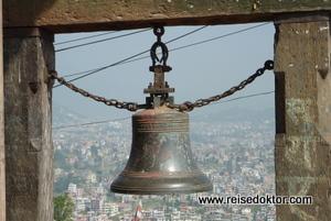 Tempelglocke in Kirtipur