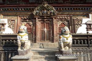 Tempel in Patan, Nepal