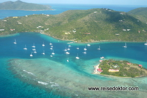 British Virgin Islands, Luftansicht