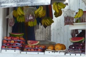 Gemüse Markt auf Tobago