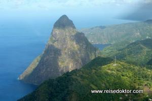 Les Pitons - St. Lucia