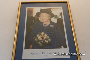 Queen Elisabeth II in der Karibik
