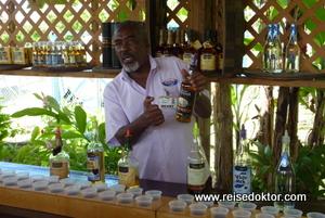 Rumverkostung auf Grenada
