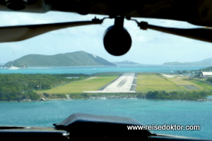 Rundflug British Virgin Islands, Tortola
