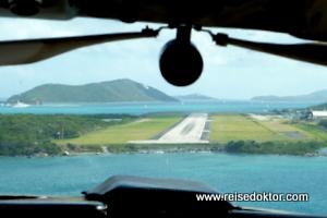 Rundflug British Virgin Islands, Tortola