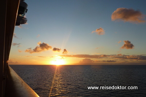 Sonnenuntergang AIDAluna