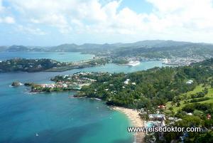 St. Lucia Luftaufnahme