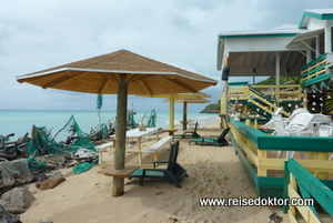Strände und Hotels auf Antigua