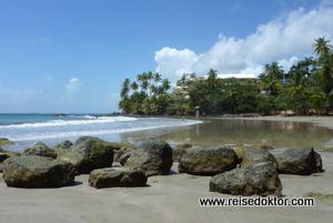 Blue Haven Hotel, Tobago, Strand