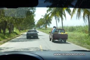 Dominikanische Republik, Taxifahrt durchs Land
