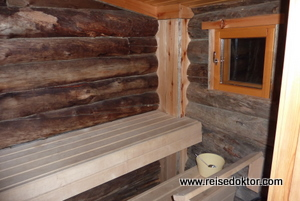 Finnische Sauna, Kakslauttanen