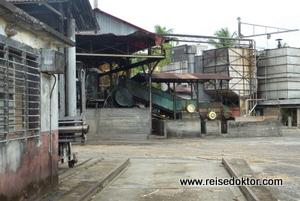 Guadeloupe Rumfabrik