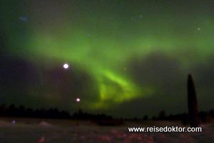 Nordlicht in Skandinavien