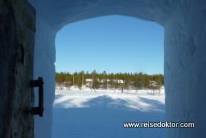 Schneeiglu Finnland