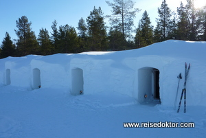 Schneeiglu Kakslauttanen