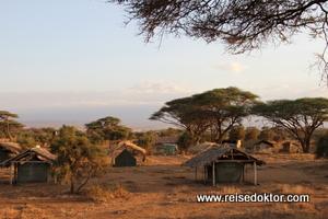Campingplatz Amboseli Nationalpark