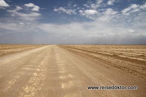 Fahrt durch den Lake Amboseli