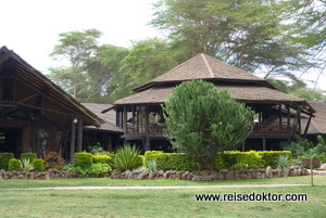 Oltukai Lodge im Amboseli Nationalpark