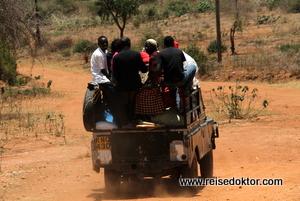 Strassen in Kenia