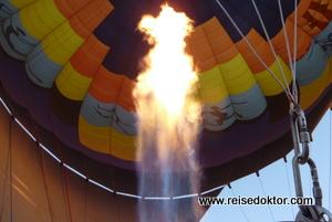 Ballonfahrt Namibia