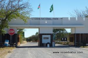Etoscha Nationalpark Eingangstor