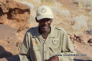 Guide in Twyfelfontein