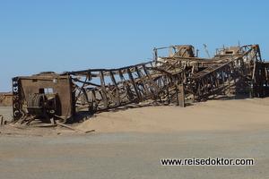 Ölbohrturm Skelettküste