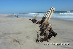 Schiffswrack Skelettküste