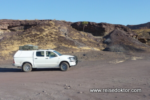 Verbrannter Berg, Namibia