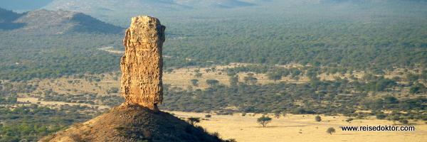 Vingerklip - Fingerklippe in Namibia
