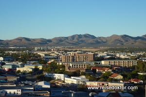 Windhoek Stadtansicht