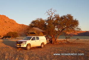 Camping Tirasberge, Namibia