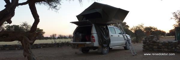 Campingplatz in Sesriem