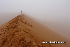 Soussusvlei Dünen im Nebel